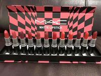 Used Mac matte lipstic (12pc set) in Dubai, UAE