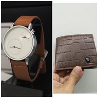 Used Original TOMI Watch》+FREE Leather Wallet in Dubai, UAE