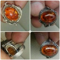 Used Antique old silver Ring with Kahraman in Dubai, UAE