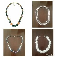 Used Buy 2 silver necklace get 2 free in Dubai, UAE