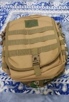 Used Sling Bag Khaki Color New in Dubai, UAE