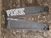 Used VS gray jogging pants size Medium in Dubai, UAE