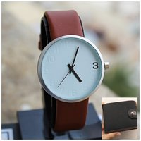 Used Original TOMI Watch +Leather Wallet♡FREE in Dubai, UAE