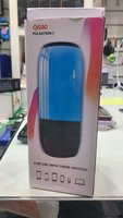 Portable bluetooth speaker with light