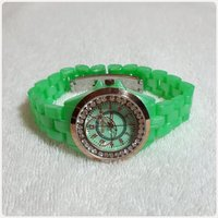 New green TIMECO watch for her.