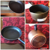Used 1 induction IKEA pan 1 regular flat pan  in Dubai, UAE