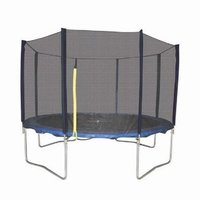 Used Round Trampoline with Steel Enclo [4.3m] in Dubai, UAE