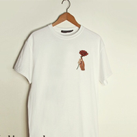 Used Rose logo T-shirts (all sizes available) in Dubai, UAE