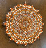 Used ORANGE CERAMIC WALL DECOR in Dubai, UAE