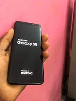 Used Samsung S8 With Charger and Headphone in Dubai, UAE