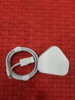Used 100% original apple adaptor + cable in Dubai, UAE