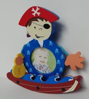 Used Kids Pirate Boat Photoframe in Dubai, UAE