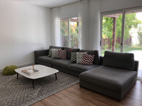 Used Large, Grey, four piece sectional sofa in Dubai, UAE