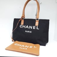Used Chanel Canvas Large Tote Bag in Dubai, UAE