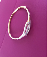 Bracelet 18 K with diamonds