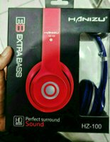 Used Original Hanizu Brand Headphone New Wire in Dubai, UAE