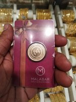 Used Gold coin 8g..22 k...original malabar in Dubai, UAE