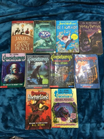 Goosebumps with other books