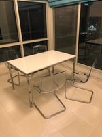 Used For sale dinner table with 4 chairs  in Dubai, UAE