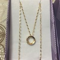 Used Hi, I'm selling #Love Necklace And Pendant Solid 18k Gold#18inch Length#price Per Pcs Not Per Grms...serious Buyer Only#brand New#authentic Gold# 1.11Grms in Dubai, UAE
