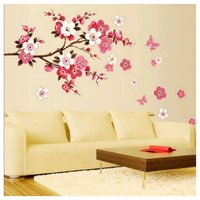 Used 3 wall stickers, flowers creative design in Dubai, UAE