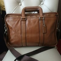 Used AUTHENTIC COACH LEATHER LAPTOP BAG.. in Dubai, UAE