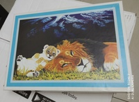 Used 500 pcs puzzle .new in Dubai, UAE