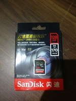 Used SanDisk SDXC 128gb 170mb/s NEW for dslr in Dubai, UAE