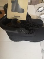 Used Timberland classic waterproof shoes blac in Dubai, UAE