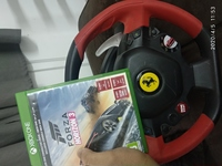 Used Ferrari driving wheel set 4 Xbox one/Pc in Dubai, UAE