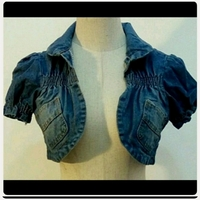 Used Crop top Denim For Her in Dubai, UAE