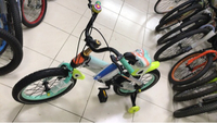 "Used New 16"" bicycle for kids (Heavy duty) in Dubai, UAE"