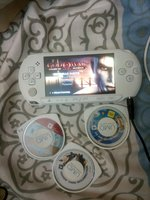 Used Psp with 4 games working good in Dubai, UAE