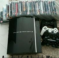 Used Sony PS 3+ 4 Controllers+20games in Dubai, UAE