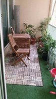 Used outdoor table and chair , plants and pot in Dubai, UAE