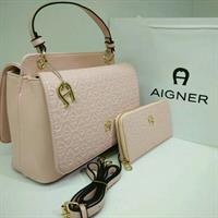 Used Aigner Bag With Wallet Brand New Replica  in Dubai, UAE