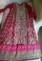 Beautiful embroided shirt with dupata