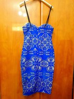 Blue dress small size 10