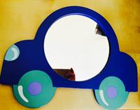Children Wooden Mirror