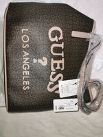 Used Guess logo printedtote bag with magnetic in Dubai, UAE