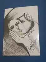 Used Pen sketched in Dubai, UAE