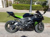 Used kawasaki ninja zx6r 2009 very clean in Dubai, UAE