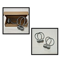 Used Magnetic Buckle Curtain Tieback 2Pcs in Dubai, UAE