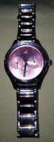 Used Women Pink Dial Watch 6078SM07- fastrack in Dubai, UAE