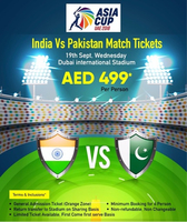 Used Indian Vs Pakistan match  in Dubai, UAE