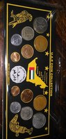 Used Uae coins set in Dubai, UAE