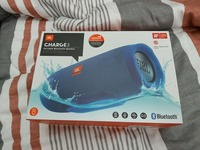 Used JbL charger 3 blue with box in Dubai, UAE