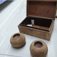 Used Craft Art Wooden Jewelry Box with gift🔥 in Dubai, UAE