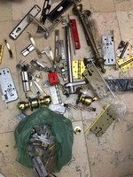 Used Mix hardware items bulk , samples in Dubai, UAE