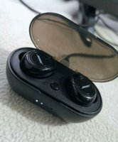 Used Bose wireless earbuds black edition in Dubai, UAE
